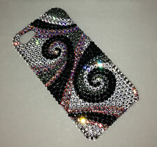Iphone XS MAX Crystal Swirly Case Made With 100% Swarovski Crystals