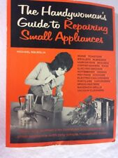The Handywoman's Guide To Repairing Small Appliances paperback 1973 Hawthorne