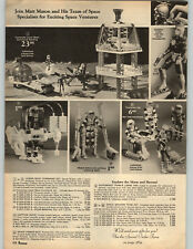 1968 PAPER AD Action Figure Captain Space Crawler Matt Mason Peanuts Drum GI Joe