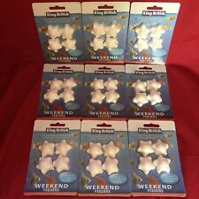 9 x Vacation Weekend Holiday Fish Food Blocks For Tropical Or Coldwater 3-4 Days