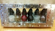 New! Sephora by O.P.I Nail Polish Holiday Collection Set of 3.75ml each x 6