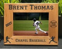 Personalized Engraved // Baseball // Picture Frame