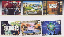 GB 2005 50th ANNIVERSARY of INDEPENDENT TELEVISION CLASSIC PROGRAMMES SET MNH