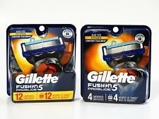 Gillette Fusion5 Proglide (12+4)= 16 Cartridges, New, 100%GENUINE, free shipping