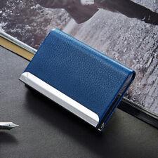 Men Women Credit Card ID Holder Money Wallet Pocket Stainless Steel Metal Case
