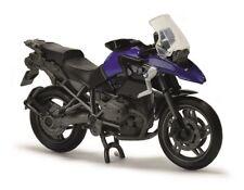 Majorette 212050020 - 1/24 Motorbikes/Moto - BMW 1200 GS - Bleu - Neuf