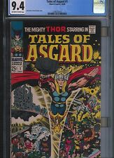 Tales of Asgard # 1 CGC 9.4  Off White to White Pages. UnRestored.