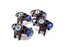 NEW TRAXXAS 1/10 SUMMIT SET OF STEERING KNUCKLES AXLE CARRIERS & BEARINGS E-REVO