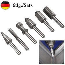 6 tlg Set HSS Schruppfräser 3,1mm Fräsbohrer Minifräser Drehfräser Hartmetall