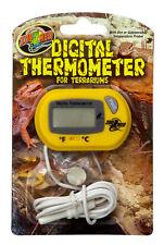 Zoo Med Reptile Digital Terrarium Thermometer with Probe Celcius or Farenheight