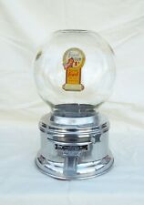 Counter top 1c Ford Gumball  Machine Glass Globe with Ford Decal