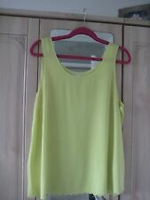 H  & M SCOLLOP DETAIL TOP SIZE UK 16 ONLY WORN TWICE