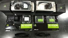 Nvidia 3D Vision Pro - 2 x RF Glasses (P703) and extras