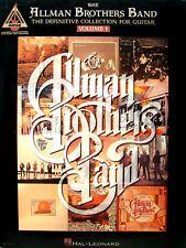 THE ALLMAN BROTHERS BAND THE DEFINITIVE COLLECTION FOR GUITARE VOL. 1 20 TITRES