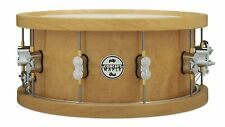 PDP 20-Ply Thick Wood Hoop Maple Snare 6.5x14 Natural w/Chrome Hardware