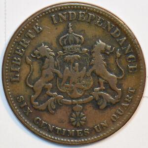 Haiti 1850 6 1/4 Centimes 491260 combine shipping