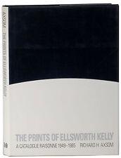 Prints of Ellsworth Kelly Catalogue Raisonne 1949-1985 hardcover Axsom first ed.