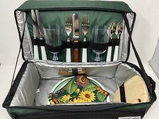 Hap TIM 4 Persona Picnic Zaino Ostacolare con isolati COOLER compartimento inc.