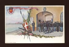 Italy Distretto Militaire Di Ancona 34o artist W Rinaldi c1902 u/b PPC