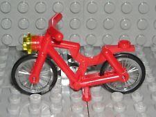 LEGO RED BIKE City Minifigure Bicycle w/ Light