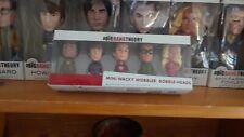 "Big Bang Theory ""all characters "" Mini Wacky Bobble-Heads.  By Funko."