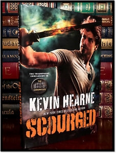 Scourged ✎SIGNED✎ by KEVIN HEARNE New Iron Druid Hardback 1st Edition & Printing