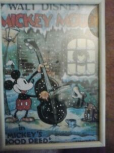 vintage mickey mouse print