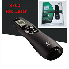 Logitech Professional Presenter R800 Wireless Remote Control With Red Laser