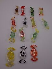 "Murano 14 Hand Crafted Art 2"" Glass Wrapped Candies  5"