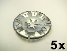 5x Metallscheiben Klemmscheiben Audi VW Clips Motorabdeckung Unterboden NEU