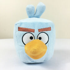 """A51 Angry Birds Space Blue Ice Cube Plush 6"""" Stuffed Toy Lovey"""