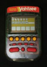 YAHTZEE Electronic Hand Held Dice Game MB/ 1995 #4511 /See-Through Grey / TESTED