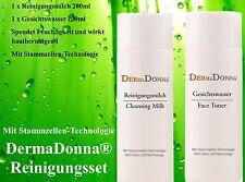 DermaDonna® Reinigungsmilch & Gesichtswasser-2x200ml/400ml/29,90€ (100ml/7,48€)