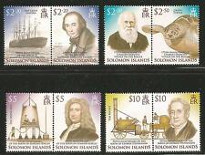 Solomon Is 2006 Science & Engineering Pioneers--Attractive Topical (1044-47) MNH