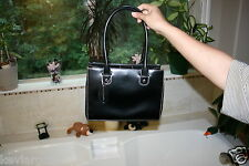 Black Leather Purse VERY HIGH QUALITY Wilson Leather