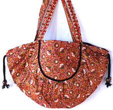 SAC A MAIN ETHNIQUE FEMME ETHNIC BAG WOMEN BOLSO ETNICO ROSE PINK BATIK