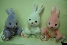 #3545 NEW NO TAGS Target Stores 3 Barbie Easter Bunny (Rabbits) Bean Bag Plush