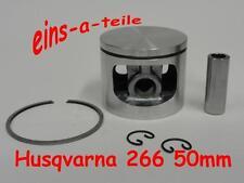 Kolben passend für Husqvarna 266 50mm NEU Top Qualität