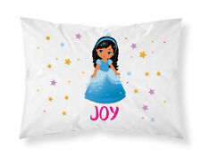 Personalised Children Princess Pillowcase Printed Gift Custom Made Print 111
