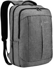 17 Inch Laptop Backpack for Men Women Business Travel Bag School Rucksack Grey