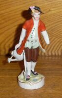 A.W. FR. Kister Scheibe-Alsbach German Porcelain Figurine Of Man - Missing Hand
