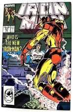 """IRON MAN"" Issue # 231 (June, 1988) (Marvel Comics) f. NEW ARMOR"