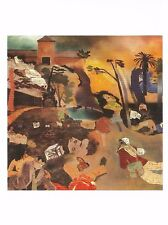 """Postcard Rb Kitaj """"If Not, Not"""" 1975-76 Scottish Nat'l Gallery Modern Art Mint"""