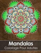 Livre de Coloriage pour Adultes,60 Mandalas: Anti Stress PDF pour Imprimer NEUF