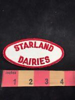 Vintage STARLAND DAIRIES Advertising Patch - Milk, Dairy 80C5
