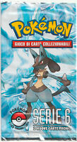 POKEMON BOOSTER • POP PROMO PACK SERIE 6 SERIES SEALED ITALIANO NEW