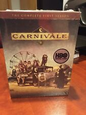 Carnivale - The Complete First Season (DVD, 2004, 6-Disc Set) Mfg. Sealed