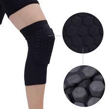 1Pcs Knee Pad Sports Safety Crash Knee Protector Sleeve Kneepad M Black