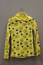 WINNIE BEAR FLEECE SWEATER WITH HOODIE & EARS ON TOP..DISNEY..SIZE: KIDS GIRLS M