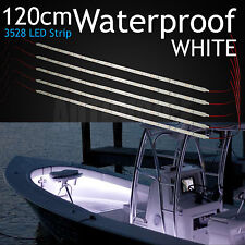 2x 12v 21led Marine Yacht Boat Led Underwater Light Fishing Boat Marine Kit Trim Tab Light Kit Transom Stern Bar Blue Waterproof High Safety Marine Hardware
